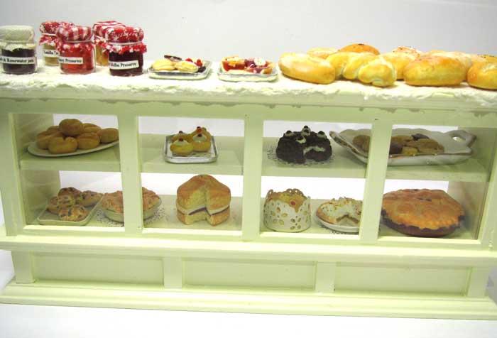画像2: ケーキ&パン棚入り
