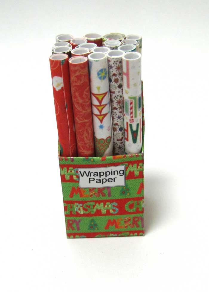 画像1: ラッピングペーパーBOX・クリスマス柄