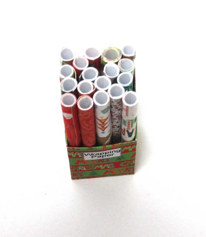 画像2: ラッピングペーパーBOX・クリスマス柄