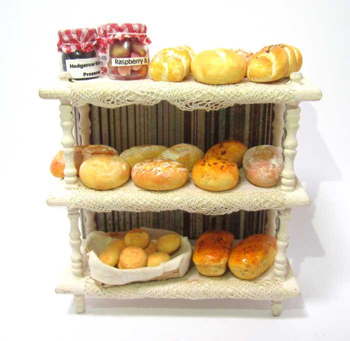 画像1: パン棚入り