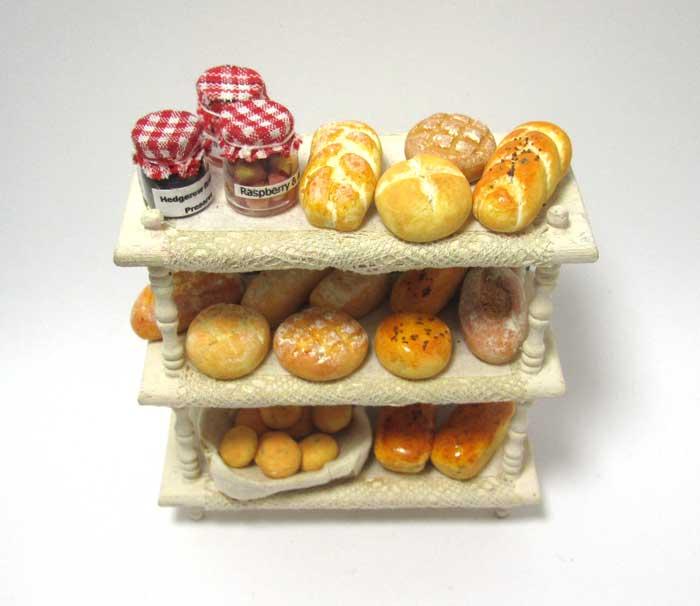 画像2: パン棚入り