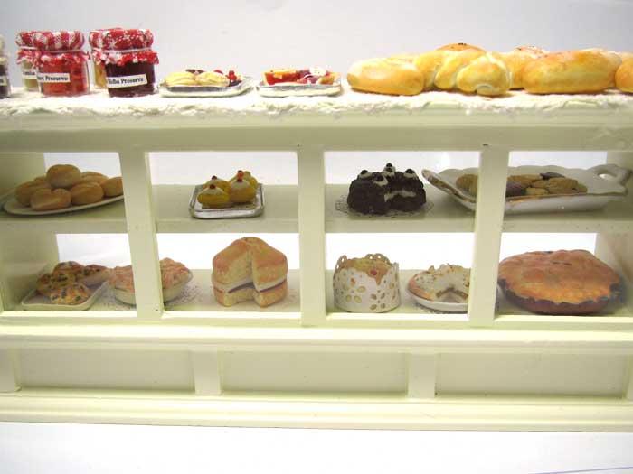 画像1: ケーキ&パン棚入り