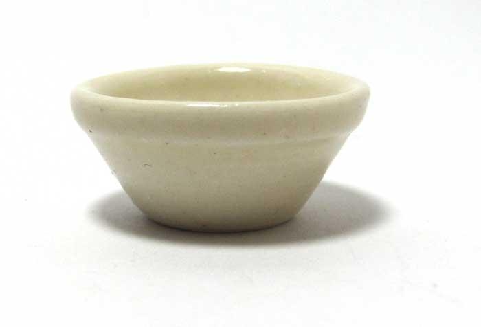 画像1: ミキシングボウル白大・陶器