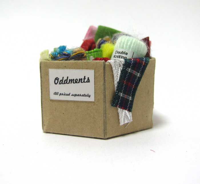 画像2: 毛糸、布BOX