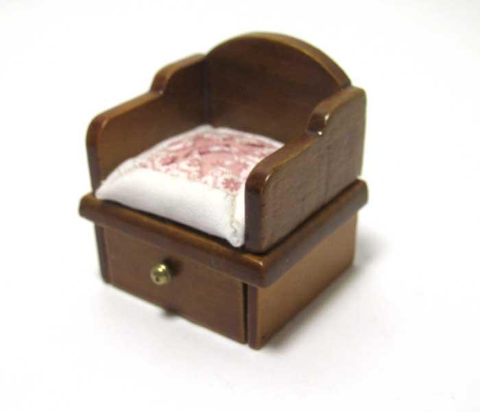 画像2: キルトクッション付き座椅子・薄ピンク
