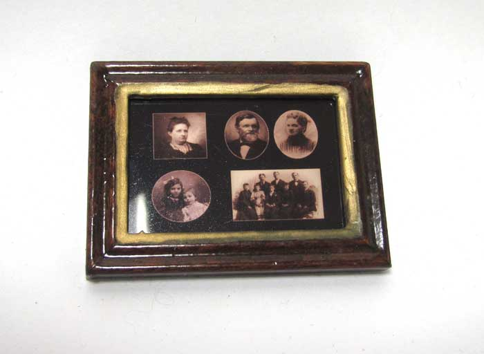 画像1: フォトフレーム・家族写真2