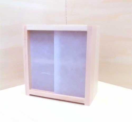 画像2: 2段の棚(無塗装)