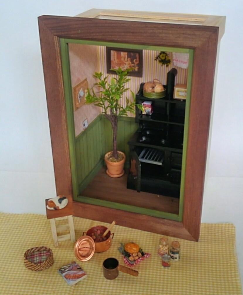画像5: ミニチュアフレーム 〜 キッチンストーブのある私の大好きな場所 〜