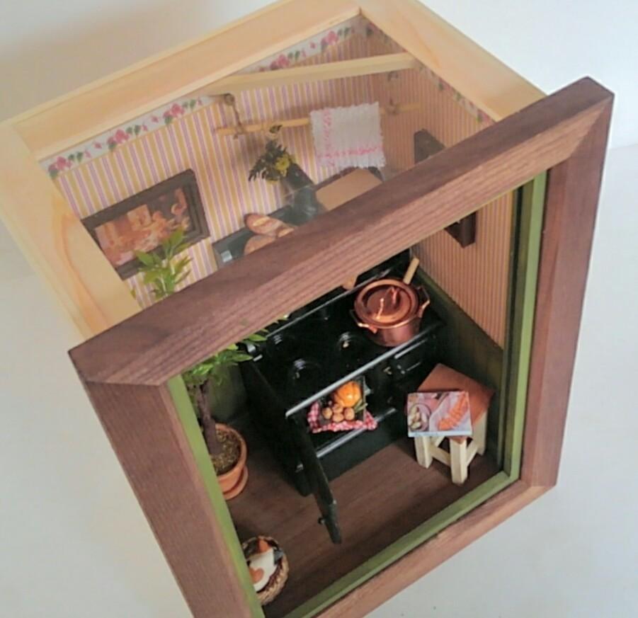 画像4: ミニチュアフレーム 〜 キッチンストーブのある私の大好きな場所 〜