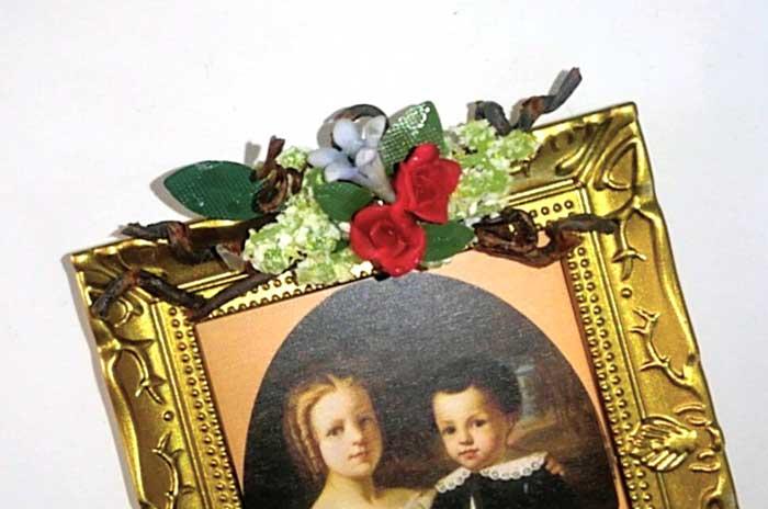 画像3: 薔薇のオーナメント