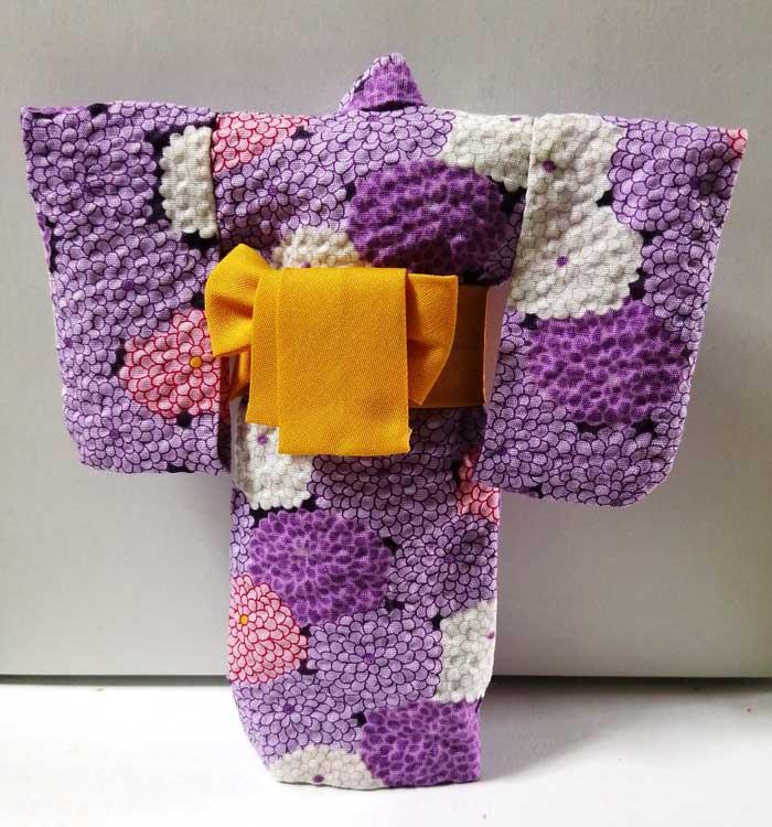 画像1: 浴衣 大(紫)