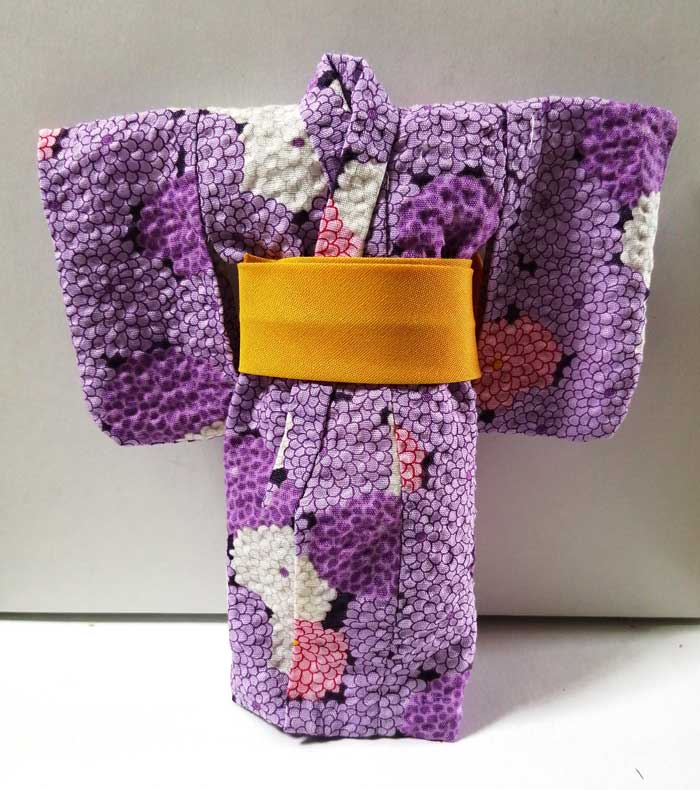画像2: 浴衣 大(紫)