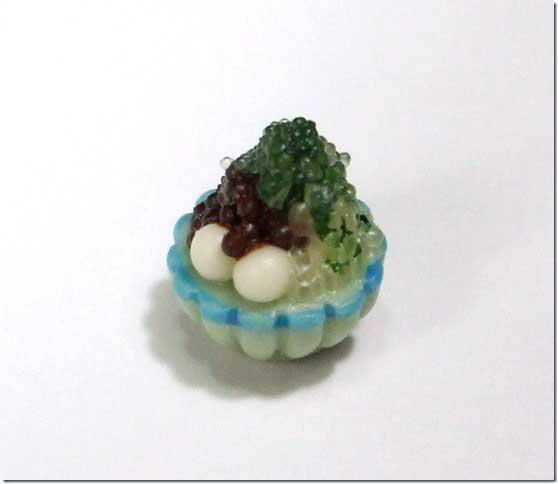 画像1: かき氷ミニ(抹茶)