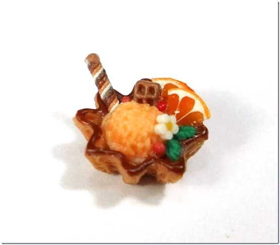 画像1: ワッフルカップアイス(オレンジ)