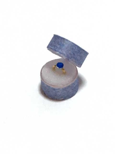 画像1: 青の石の指輪