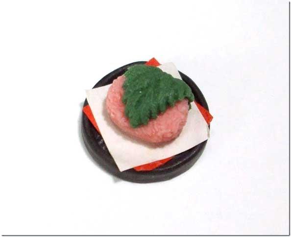 画像1: 桜餅皿入り1個