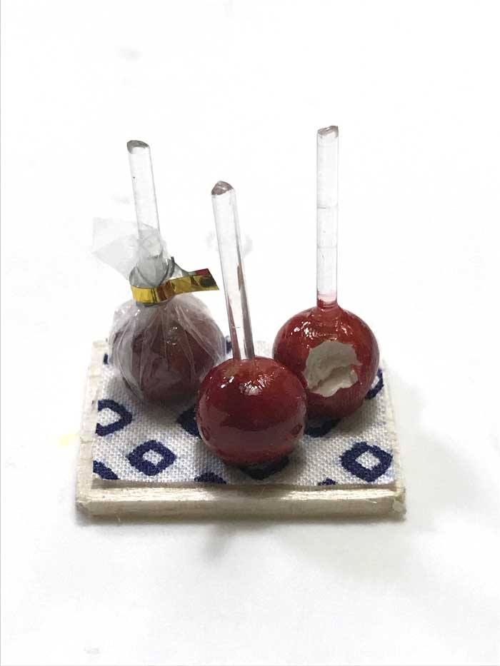 画像1: りんご飴