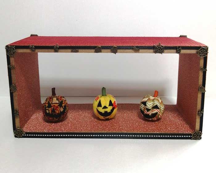 画像1: ハロウイン かぼちゃのオブジェ