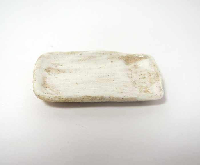 画像1: 陶芸・刷毛目長方皿