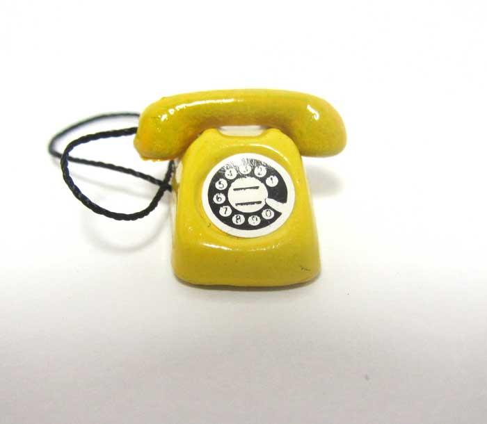 画像1: 電話・白