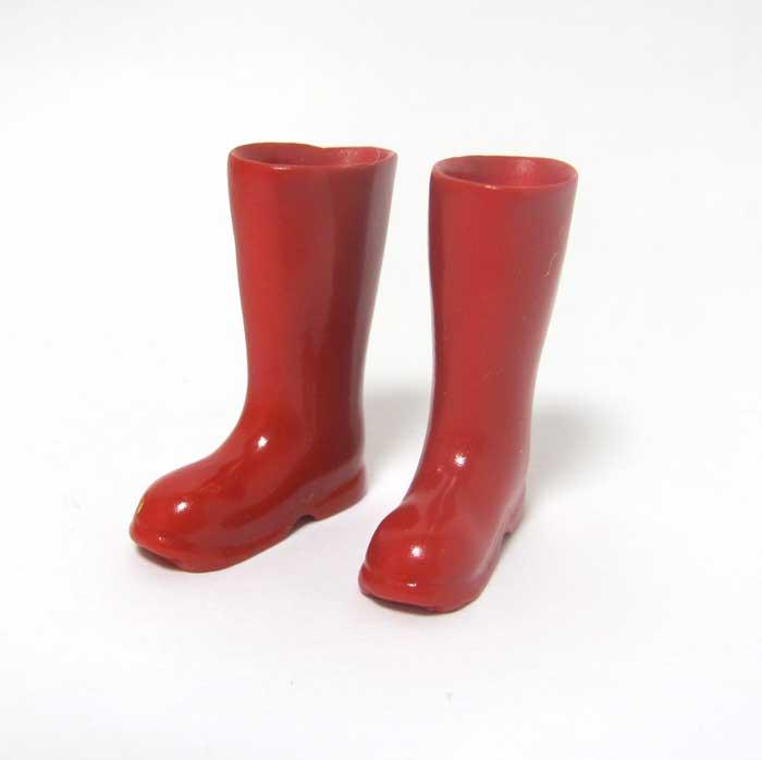 画像2: 長靴・赤