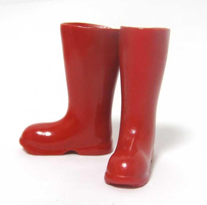 画像1: 長靴・赤