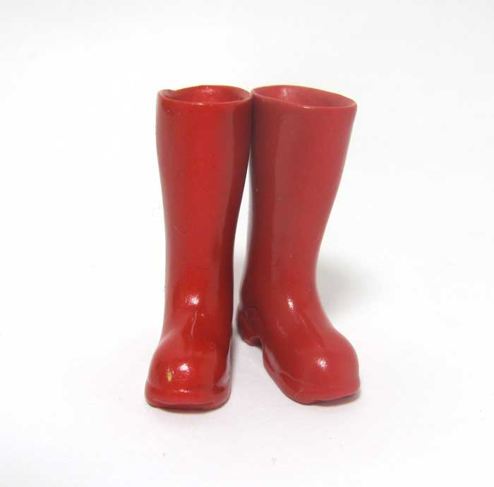 画像3: 長靴・赤