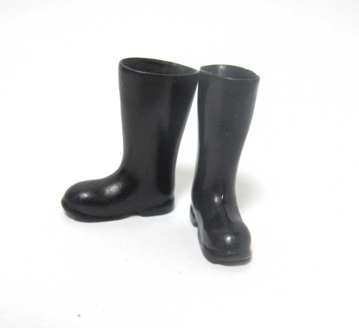 画像1: 長靴・黒