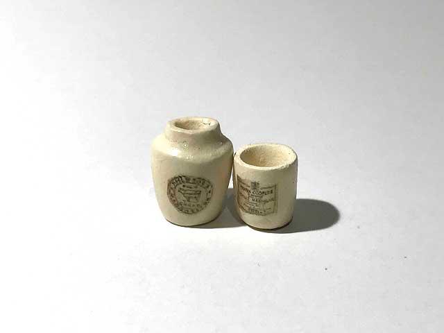画像1: 陶器ポット・ジャー