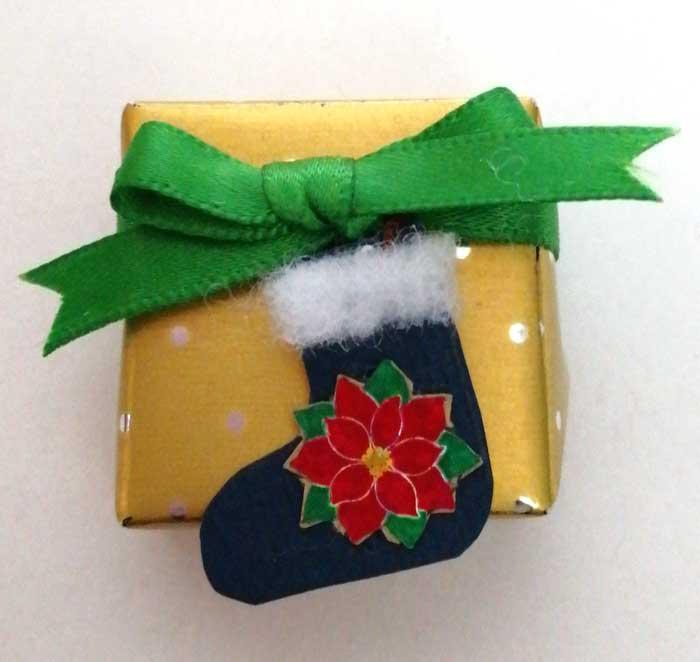 画像1: プレゼントボックス(靴下)
