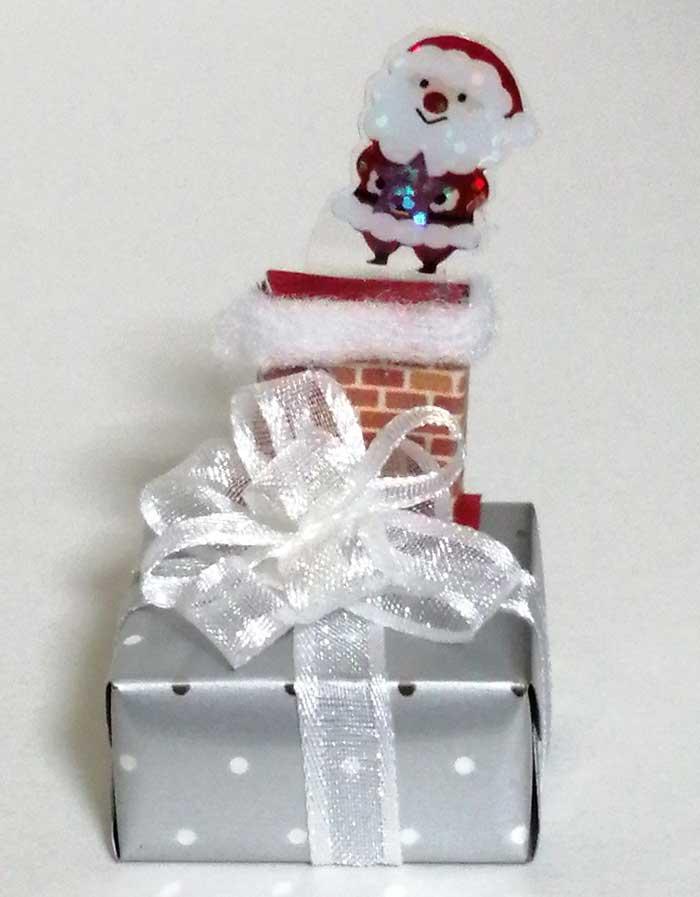 画像1: プレゼントボックス(サンタ)
