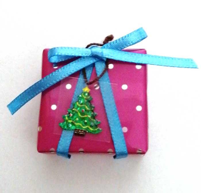 画像1: プレゼントボックス(ピンクツリー)