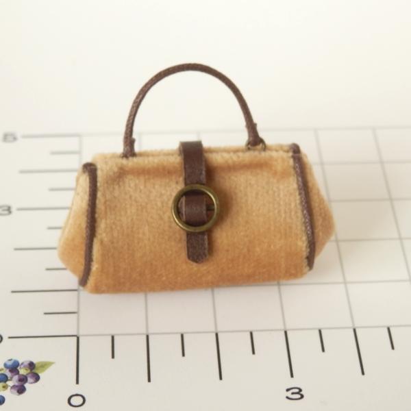 画像2: ハンドバッグ キャメル