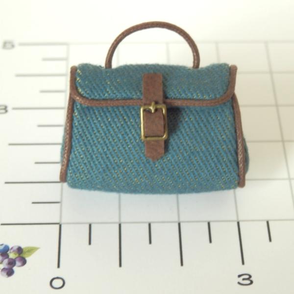 画像2: ハンドバッグ・ブルー