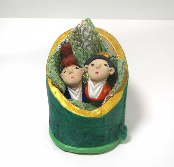画像2: 陶芸のお雛様