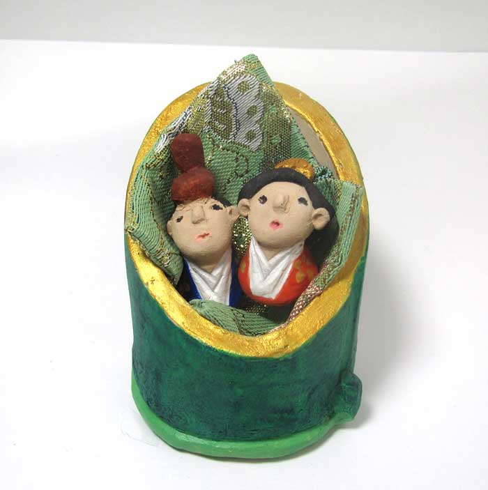 画像1: 陶芸のお雛様