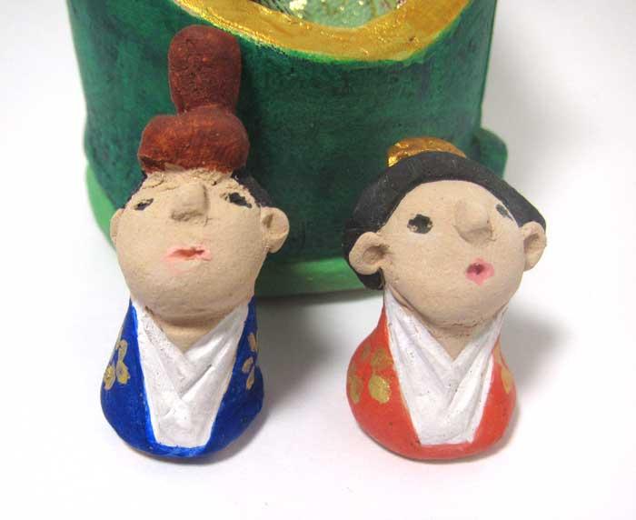 画像5: 陶芸のお雛様