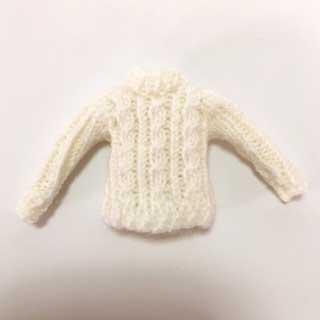 画像1: 白いセーター
