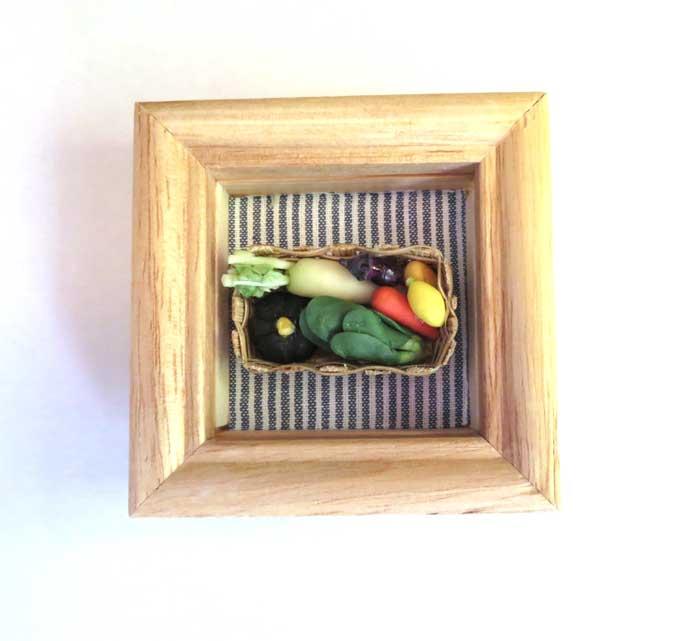 画像1: ミニ額・野菜