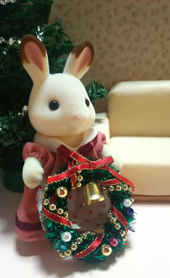 画像2: クリスマスリース(グリーン)