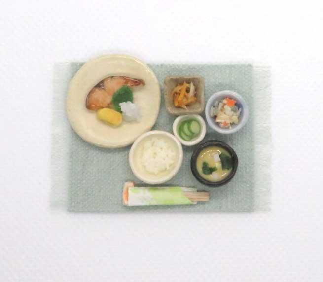 画像1: 焼鮭定食
