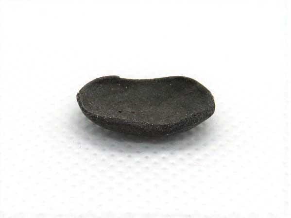 画像1: 黒長皿