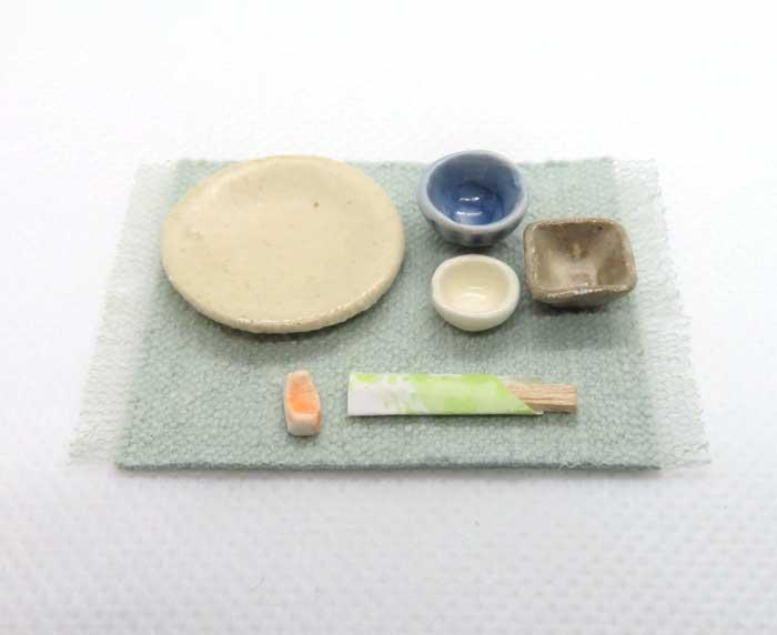 画像1: 和食膳皿セット