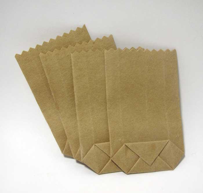 画像1: 紙袋・4枚