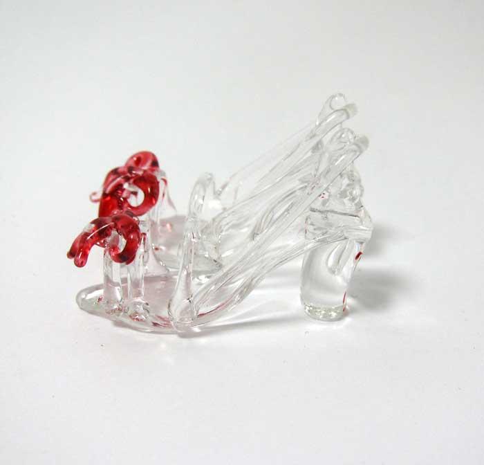画像3: ガラスの靴・赤リボン