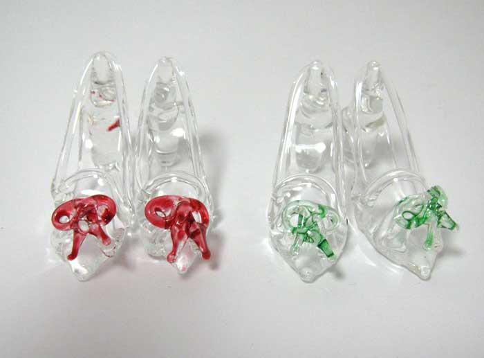 画像4: ガラスの靴・緑リボン