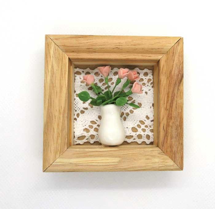 画像1: ミニ額・花瓶