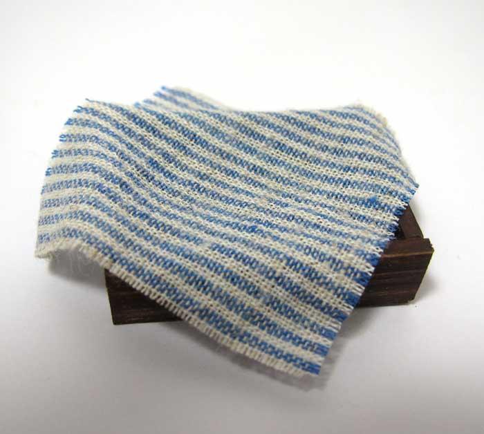 画像1: パン箱・ブルー布