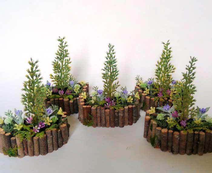 画像3: コニファーの花壇
