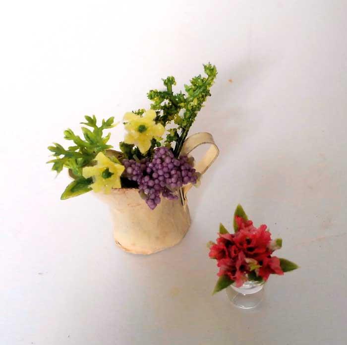 画像4: フラワー・センターピース&ジャグのお花(白)